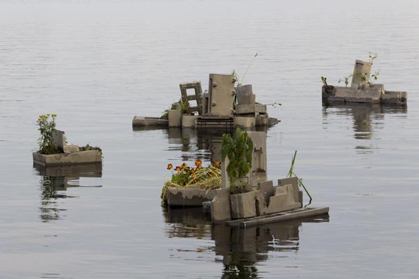 De verloren tuinen van de Riekerpolder